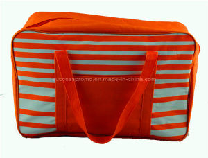 Striped Promotional Outdoor Insulated Picnic Bag, Cooler Lunch Bag, Mommy Cooler Bag pictures & photos