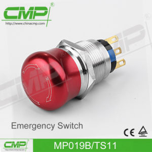 Emergency Push Button Switch (19mm) pictures & photos