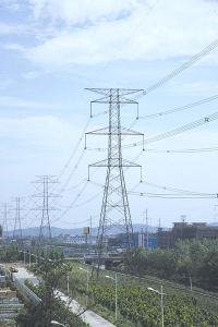 Customized Transmission Line Steel Tower