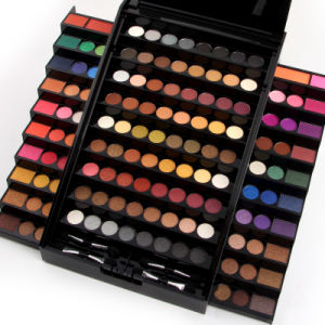 Professional 130 Colors Shiny Eyeshadow Palette Cosmetics Mineral Makeup Es0324 pictures & photos