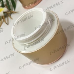 New Arrival 30g 50g Acrylic Cream Jar for Cosmetic Packaging (PPC-ACJ-119) pictures & photos