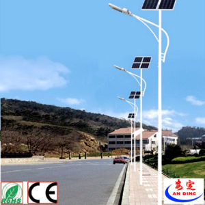 Rechargeable Lights Ce CCC Certification Approved Die Casting Aluminium Solar Street Light