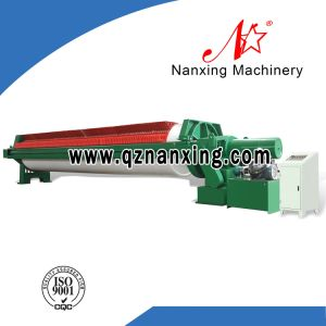 Marble Cutting Wastewater Treatment Recessed Chamber Filter Press