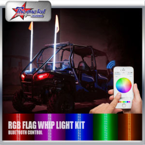 Hot Selling Offroad Car ATV UTV Buggy Rzr 4 Feet 1.2m RGB Color LED Sand