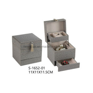 PU Packing Storage Display Necklace Beauty Jewelry Case Jewellery Box