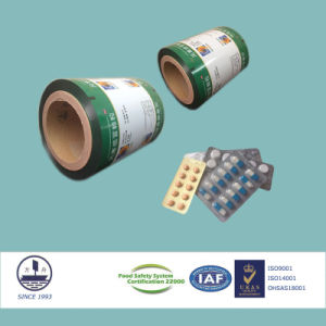 ISO9001/14001 Certified Composite Film for Pharmaceutical Packaging