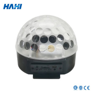 Mini Disco Magic LED Crystal Ball with Amplifier