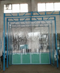 Portable Paint Booth with Soft Curtain pictures & photos