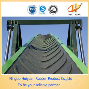 Cleated Rough V Shape Pattern Rubber Transportation Belt pictures & photos