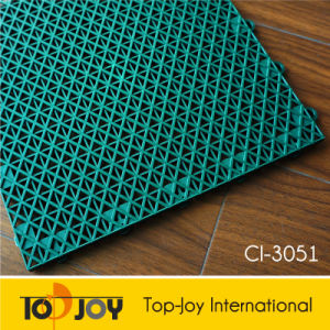 Modular Outdoor Interlocking Flooring Tile