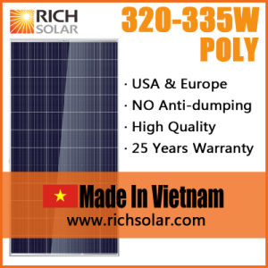 330W 12V Photovoltaic Poly PV Solar Module for Home Use
