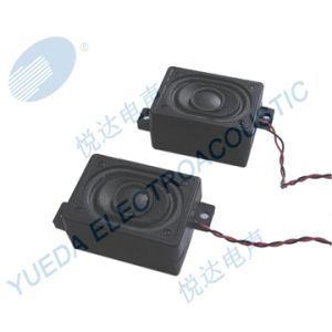 Plastic Speaker Box for Multimedia Use (YX3245-2) pictures & photos