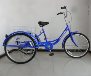 "Hot Sale 24"" Pedal Assist Trike (FP-TRCY039) pictures & photos"
