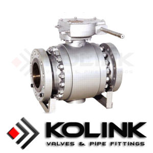 Forged Steel Trunnion Mounted Ball Valve, 3PC Ball Valve