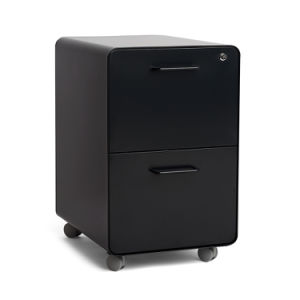 2-Drawer Mobile Pedestal File Black (SI6-LCF2DBL) pictures & photos
