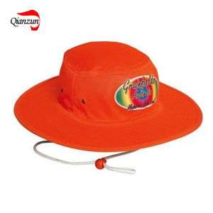 Orange Printing Bucket Fishing Hat (ZJ-6502) pictures & photos