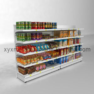 Adjustable Multi Functional Steel Sigle Side Supermarket Shelf pictures & photos