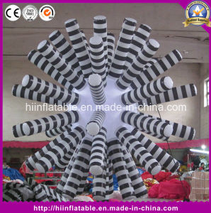 16 Colour Party Decoration White Lighting LED Inflatable Star with LED