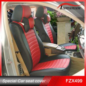 China Black And Red Pvc Leather Car Seat Cover Fzx499 China