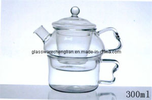 High Borosilicate Glass Pot (NRH-015) pictures & photos