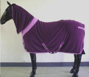 Purple Combo Cooler Fleece Horse Rug