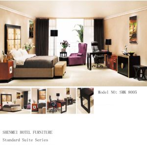 Hotel Bedroom Suite Furniture (SMK-8005)