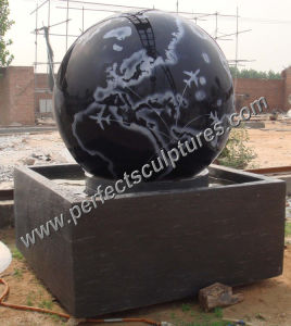 Stone Floating Ball Fountain with Granite Rolling Ball Fountain (SF-B091) pictures & photos