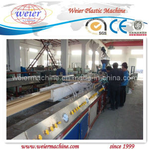 High Quality WPC Profile Extrusion Machine pictures & photos