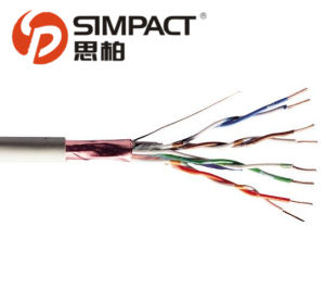 UL/CE/RoHS/ISO Approved FTP Cat5e Patch Cable-Simpact pictures & photos
