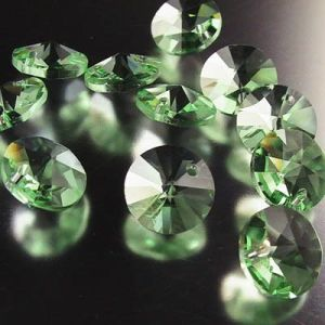 6200 Green Crystal Round Bead- Crystal Jewelry Bead (TL09080329)