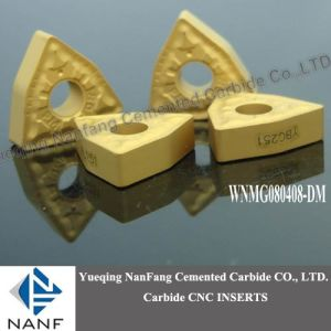 CNC Carbide Inserts Golden Color (WNMG080408-PM)