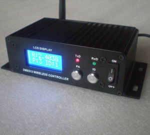 LCD 2.4G Wireless DMX512 Receiver with CE&RoHS Approval