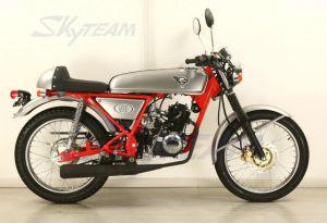 Skyteam Cafe Racer Motorcycle Vintage Bike Classic 125cc 4 Stroke Ace Dream Motorbike EEC Euro