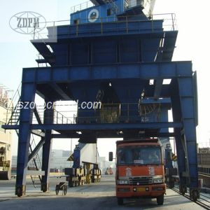 Rail Mounted Mobile Dust Proof Port Cement Hopper