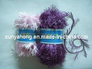 Long Hair Polyester Feather Yarn