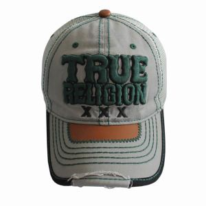 4e4c2dcb40f China Stone Washed Cotton 6 Panels Baseball Cap with Bold Thread ...
