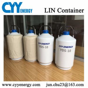 Hot Sale Portable Type Cryogenic Liquid Container for Semen Storage pictures & photos