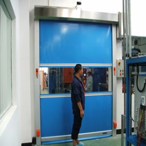 PVC Plastic High Speed Roll up Door (HF-1033) pictures & photos