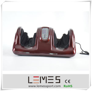 Lemes Electric Vibrating Reflexology Roller Foot Massager Machine pictures & photos
