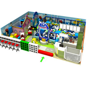 New Design Good Quality Candy Themem Indoor Soft Playground