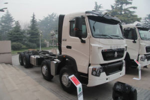 Competive Price Man HOWO T7h 8*4 Tractor Truck pictures & photos