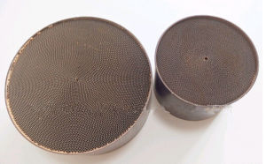 Honeycomb Metallic Substrate of Catalyst Converter of Euro 4, Euro5 pictures & photos