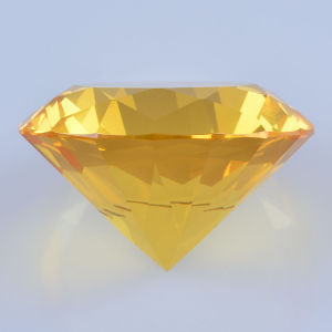 Yellow Crystal Glass Diamond for Thank Giveaway Wedding Favor Gift pictures & photos