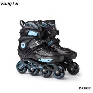 39cc5fff742a Adults Inline Skate Shoes 4 Wheels Roller Patins Skating Shoes Street  Skates (DA1032)