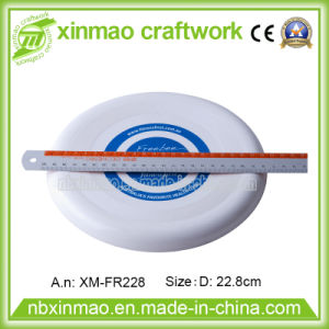 9inch Plastic Frisbee with 1c Logo for Promo