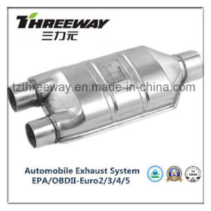 Car Exhaust System Three-Way Catalytic Converter #Twcat016 pictures & photos