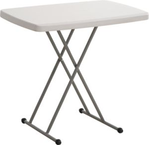 Wholesale Adjustable Personal Plastic Table, Portable Table pictures & photos