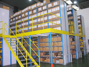 Multi-Floor Warehouse Heavy Loading Storage Mezzanine Shelves pictures & photos