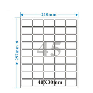 Customized Design Professional Made Competitive Price Self Adhesive Label pictures & photos
