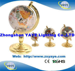 Yaye Hot Sell White Colour Gemstone Globe / World Globe with Globe Size: 50mm-330mm pictures & photos